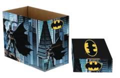 DC COMICS BATMAN SHORT COMIC STORAGE BOX