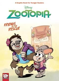 DISNEY ZOOTOPIA FRIENDS TO THE RESCUE HC