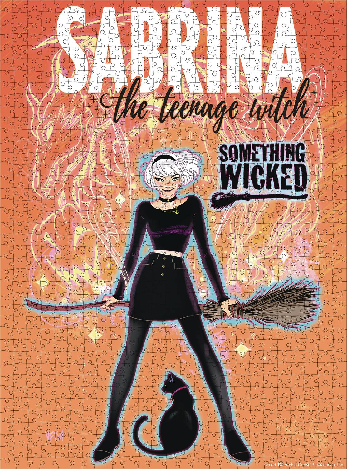 SABRINA THE TEENAGE WITCH 1000PC PUZZLE