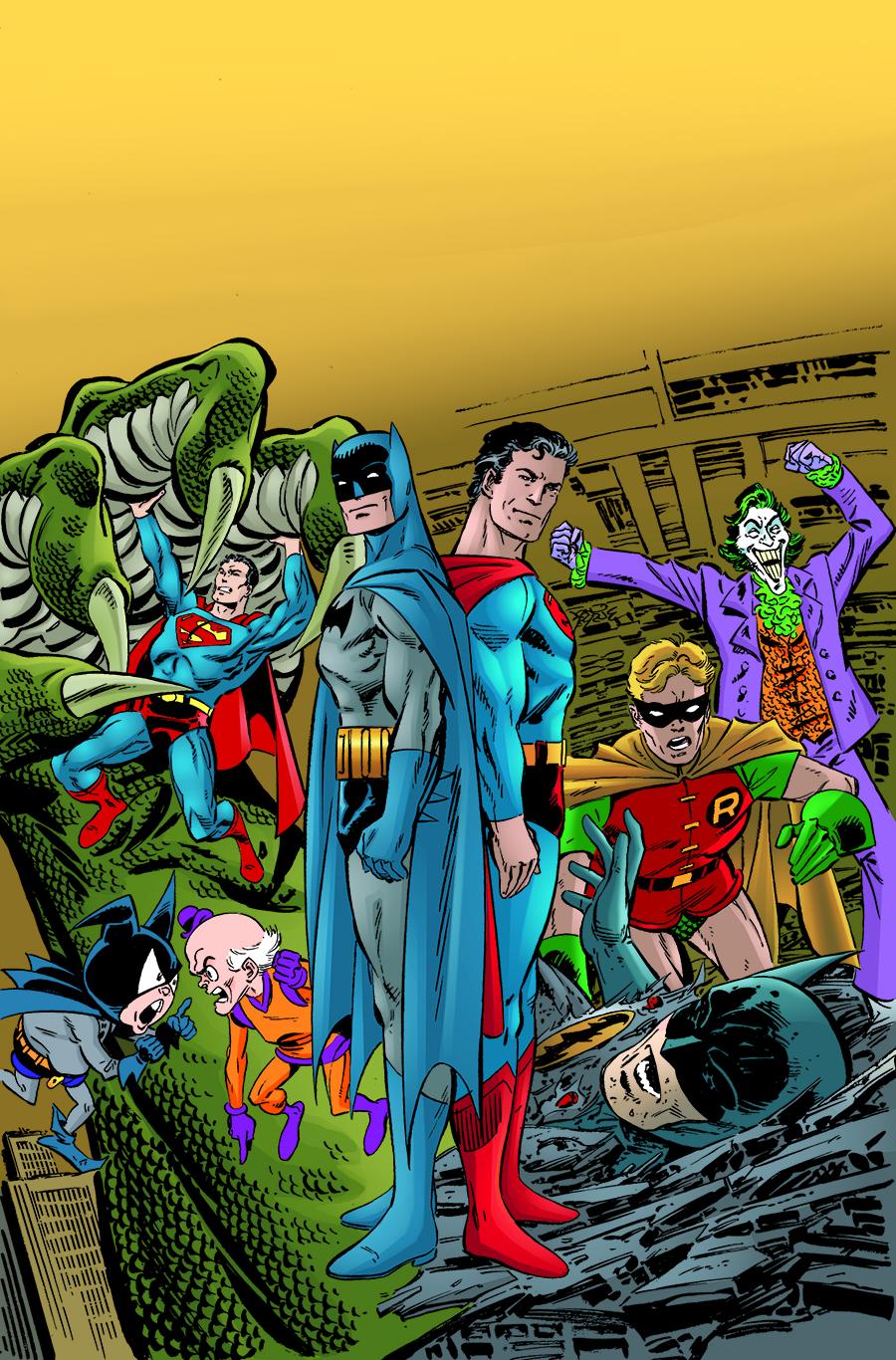 SUPERMAN & BATMAN GENERATIONS OMNIBUS HC