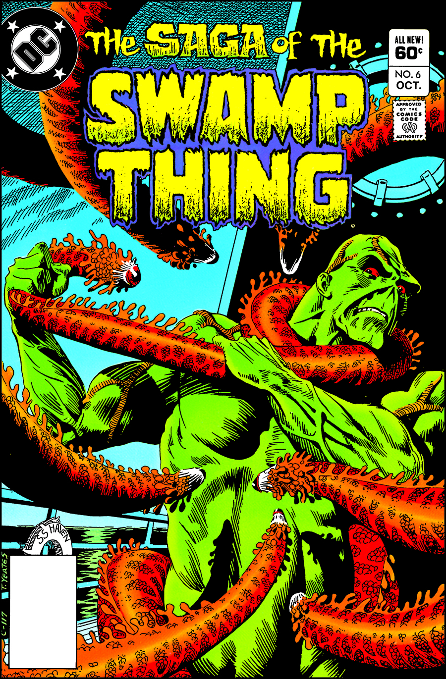 SWAMP THING THE BRONZE AGE TP 03