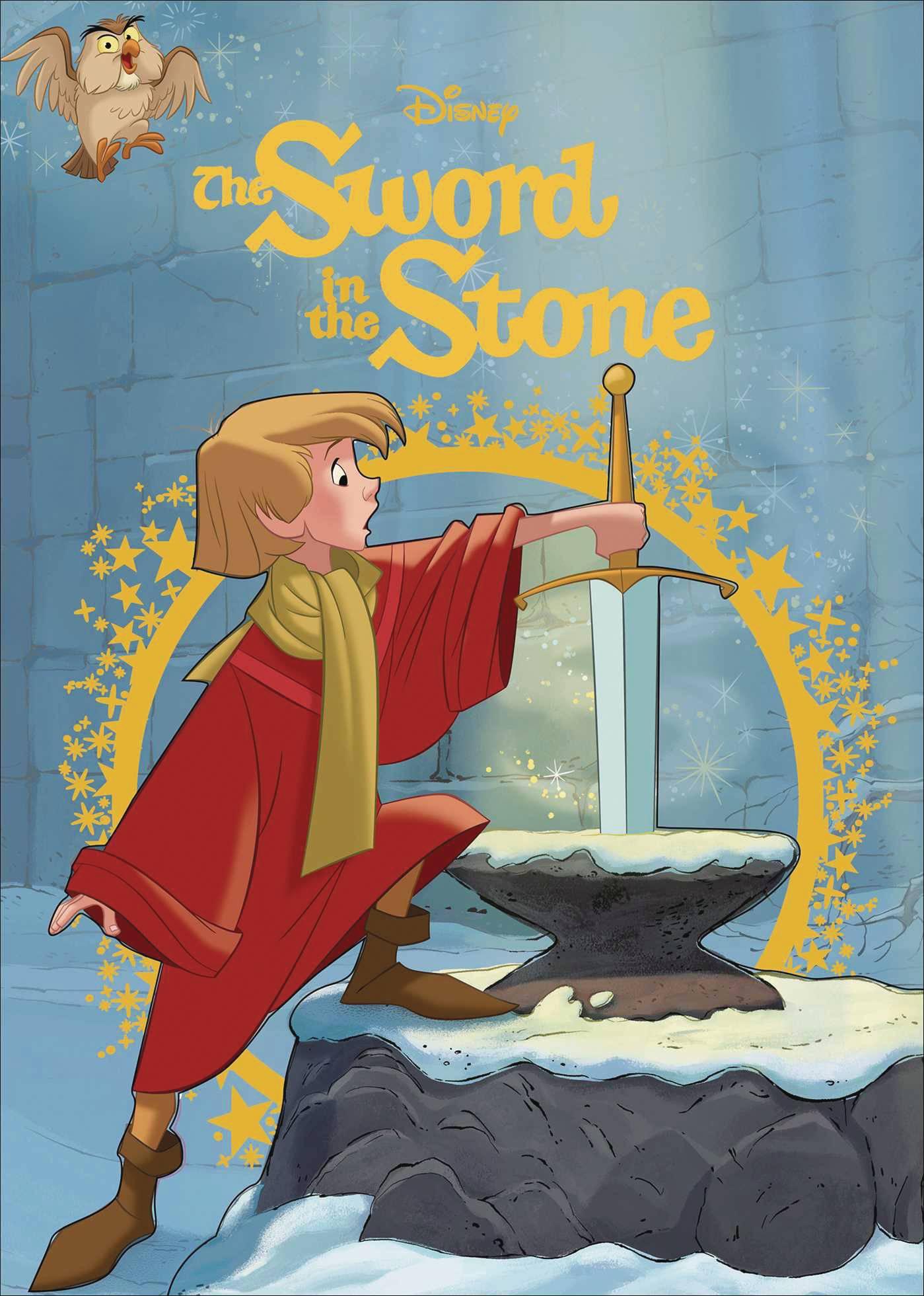 DISNEY SWORD IN THE STONE STORYBOOK HC