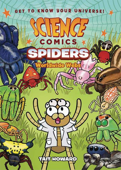 SCIENCE COMICS SPIDERS HC