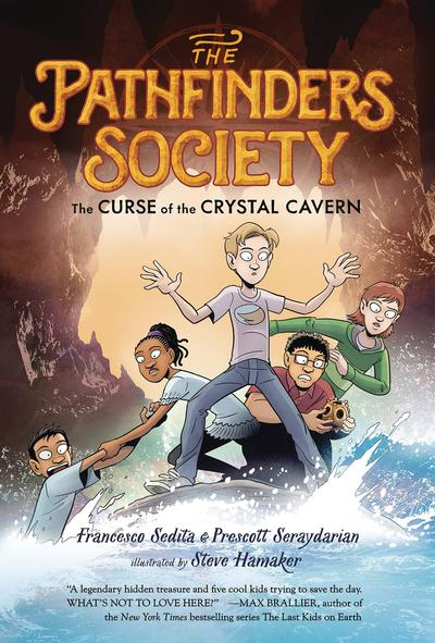 PATHFINDERS SOCIETY GN 02 CURSE OF CRYSTAL CAVERN