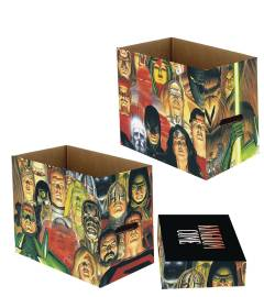 DC COMICS KINGDOM COME 5 PK SHORT COMIC STORAGE BOX