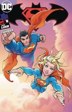 SUPERMAN BATMAN #8 ASPEN VAR CVR B