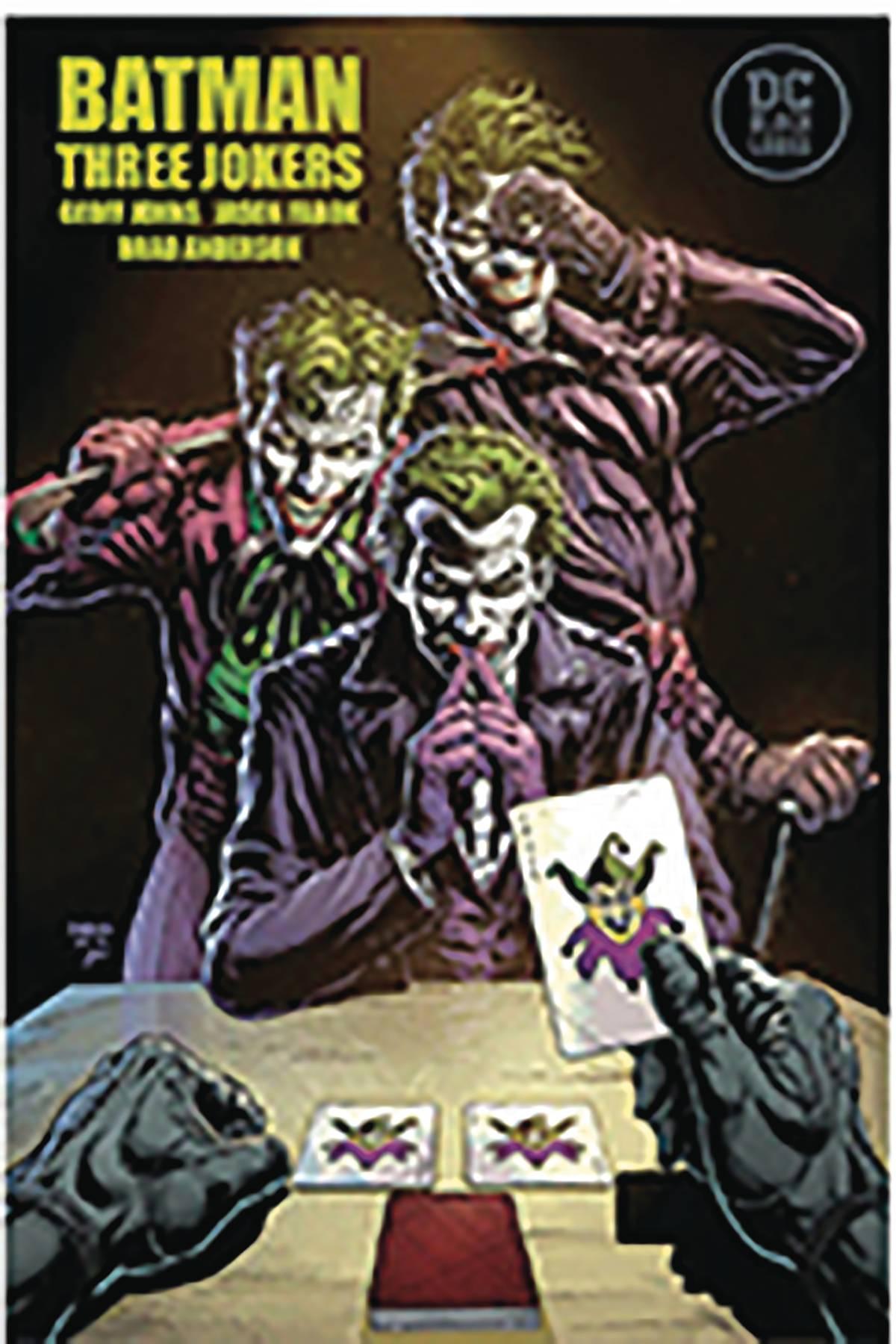 BATMAN THREE JOKERS #1 FABOK SGN
