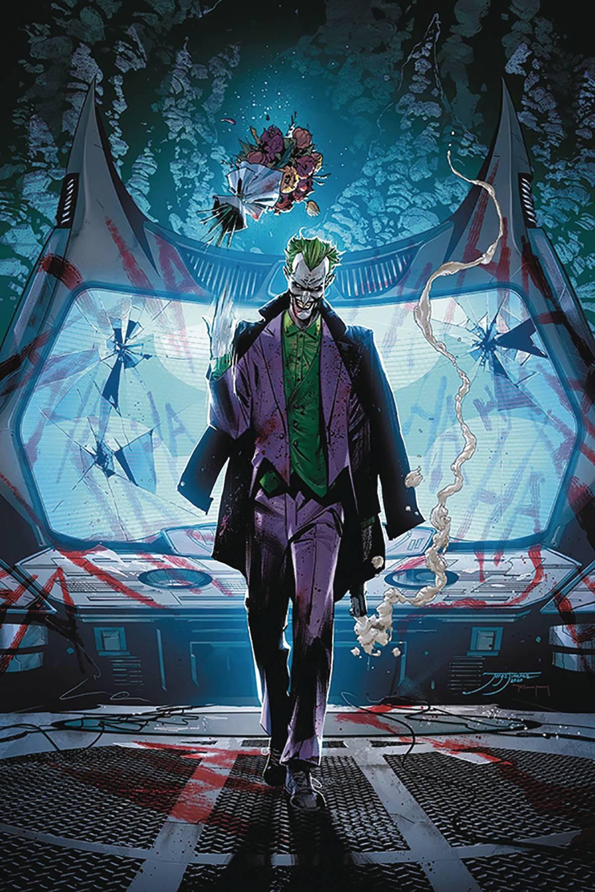 BATMAN #95 JOKER WAR TYNION IV SGN