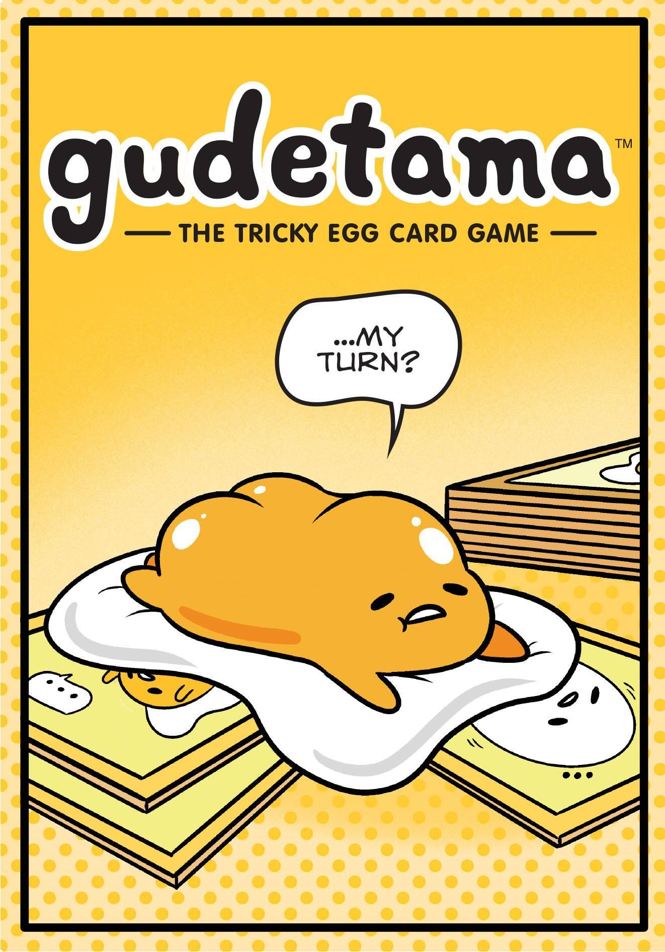 GUDETAMA TRICKY EGG CARD G AME