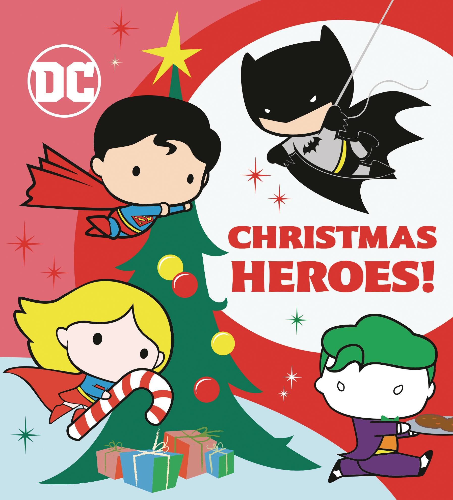 DC JUSTICE LEAGUE CHRISTMAS HEROES BOARD BOOK