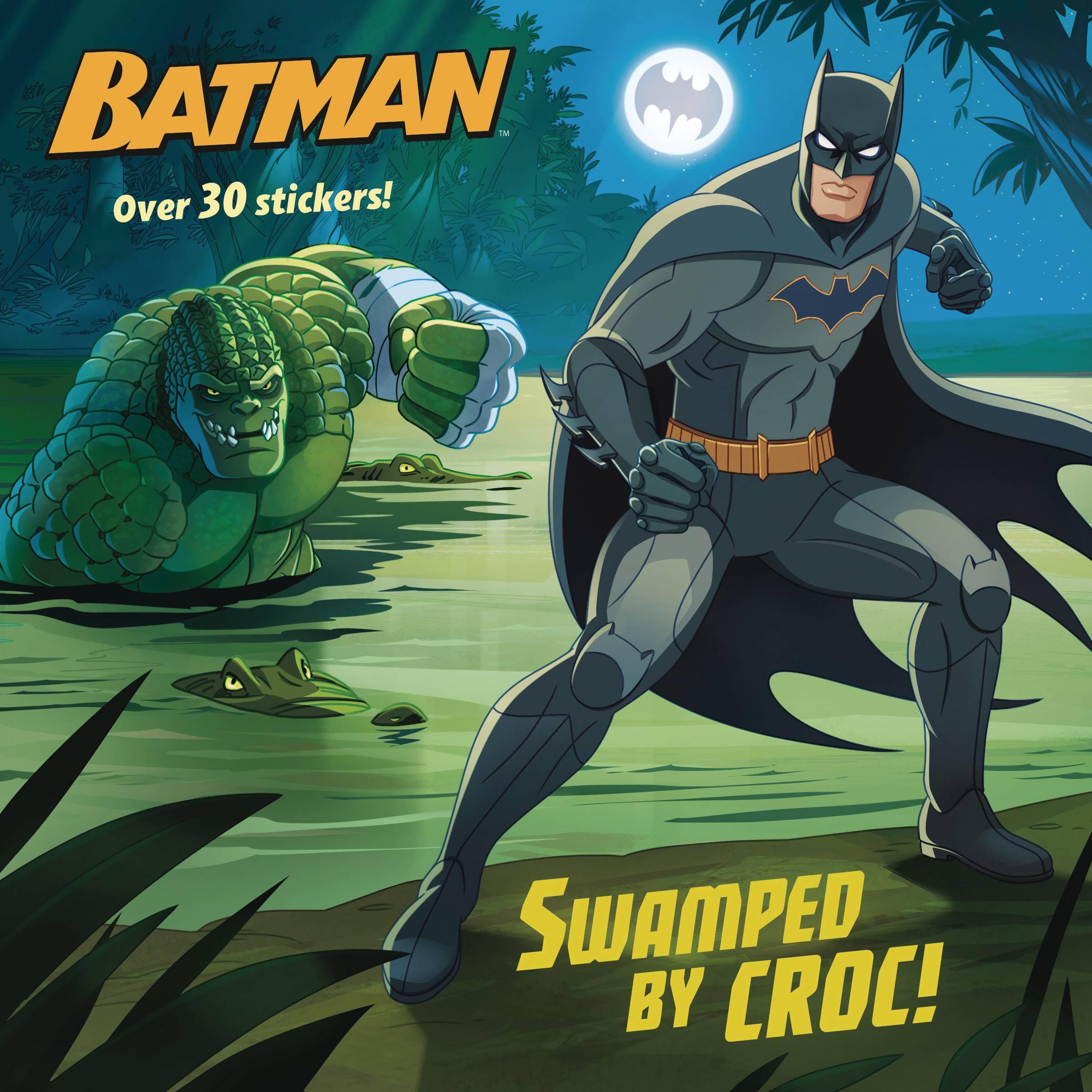 DC SUPER HEROES BATMAN SWAMPED BY CROC PICTUREBACK