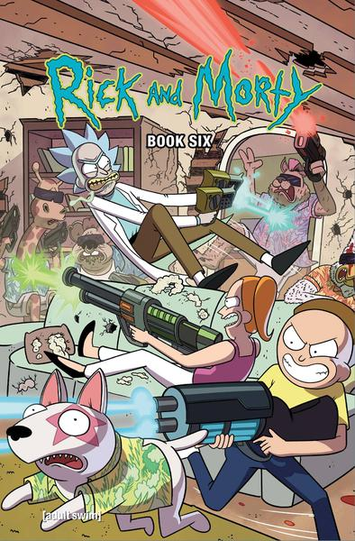 RICK AND MORTY HC 06