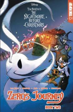 DISNEY MANGA NIGHTMARE CHRISTMAS ZEROS JOURNEY TP 02