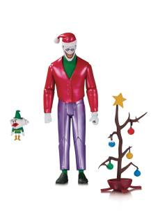 BATMAN THE ANIMATED SET CHRISTMAS WT THE JOKER AF