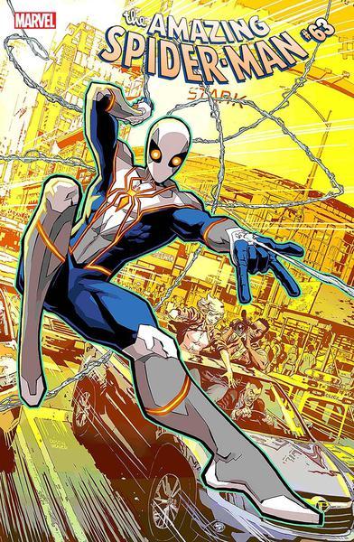 DF AMAZING SPIDERMAN #63 GLEASON SGN