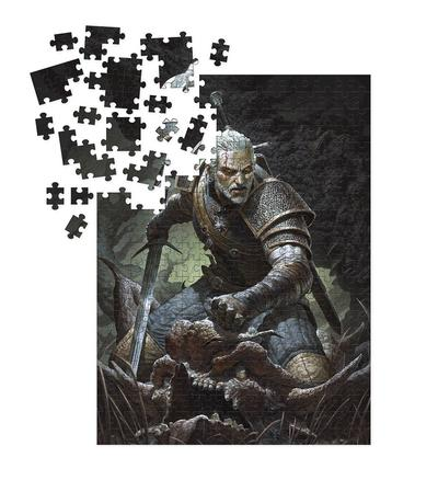 WITCHER 3 WILD HUNT GERALT PUZZLE