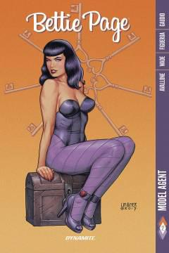 BETTIE PAGE TP 02 MODEL AGENT