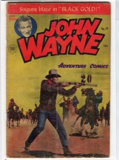 JOHN WAYNE ADVENTURE COMICS