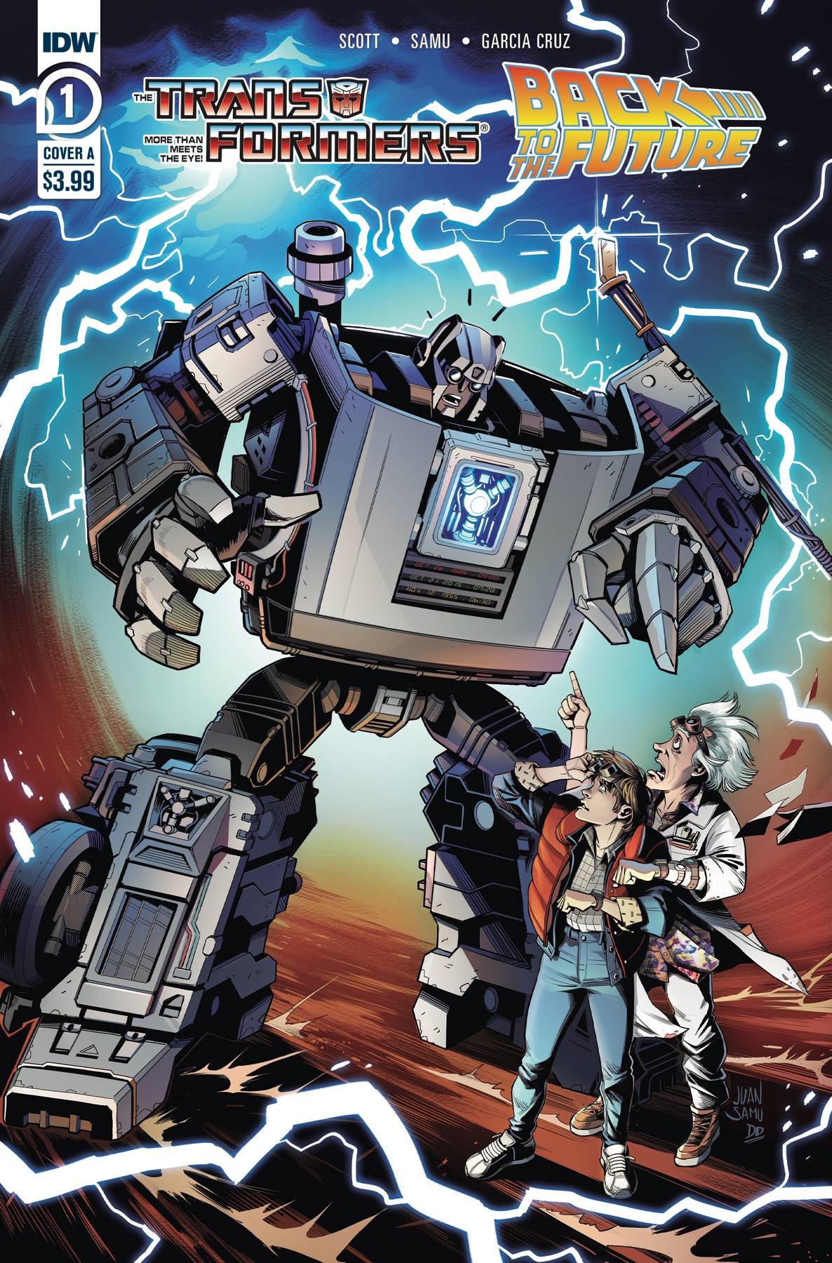 TRANSFORMERS BACK TO FUTURE