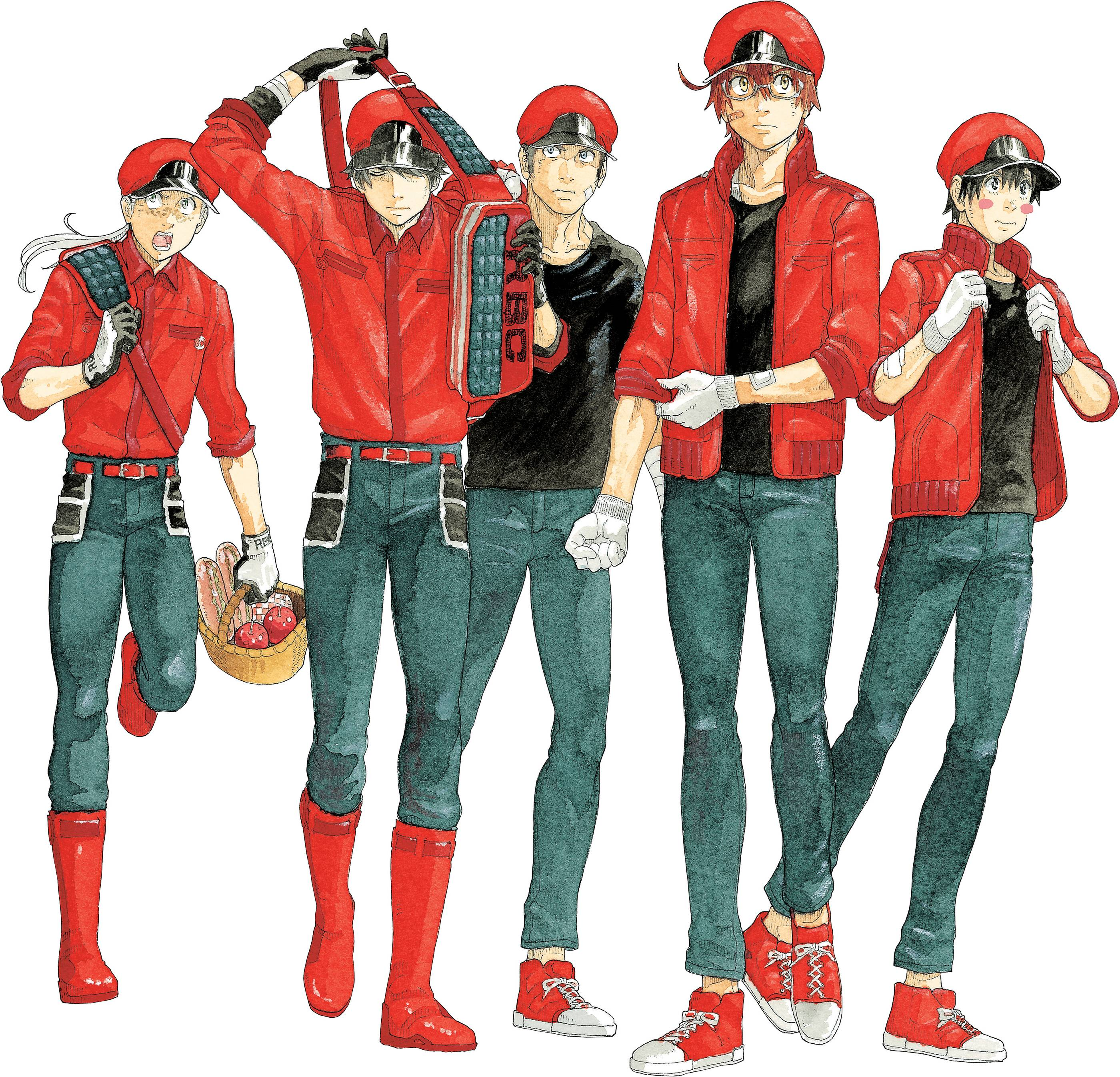 CELLS AT WORK CODE BLACK GN 06