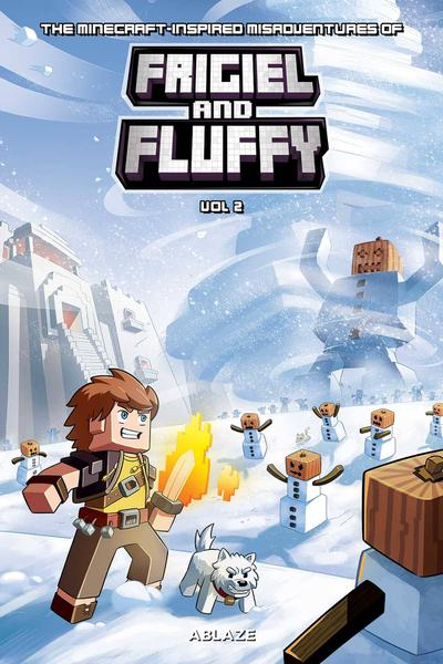 MINECRAFT INSPIRED MISADV FRIGIEL & FLUFFY HC 02