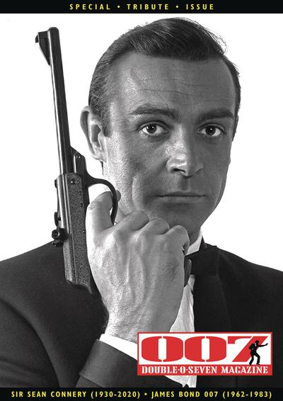 007 MAGAZINE SIR SEAN CONNERY TRIBUTE SPECIAL