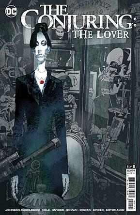 DF CONJURING THE LOVER #1 SNYDER SGN
