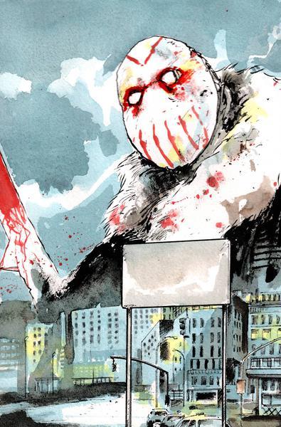 MANIAC OF NEW YORK BRONX BURNING