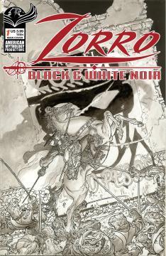 ZORRO BLACK & WHITE NOIR