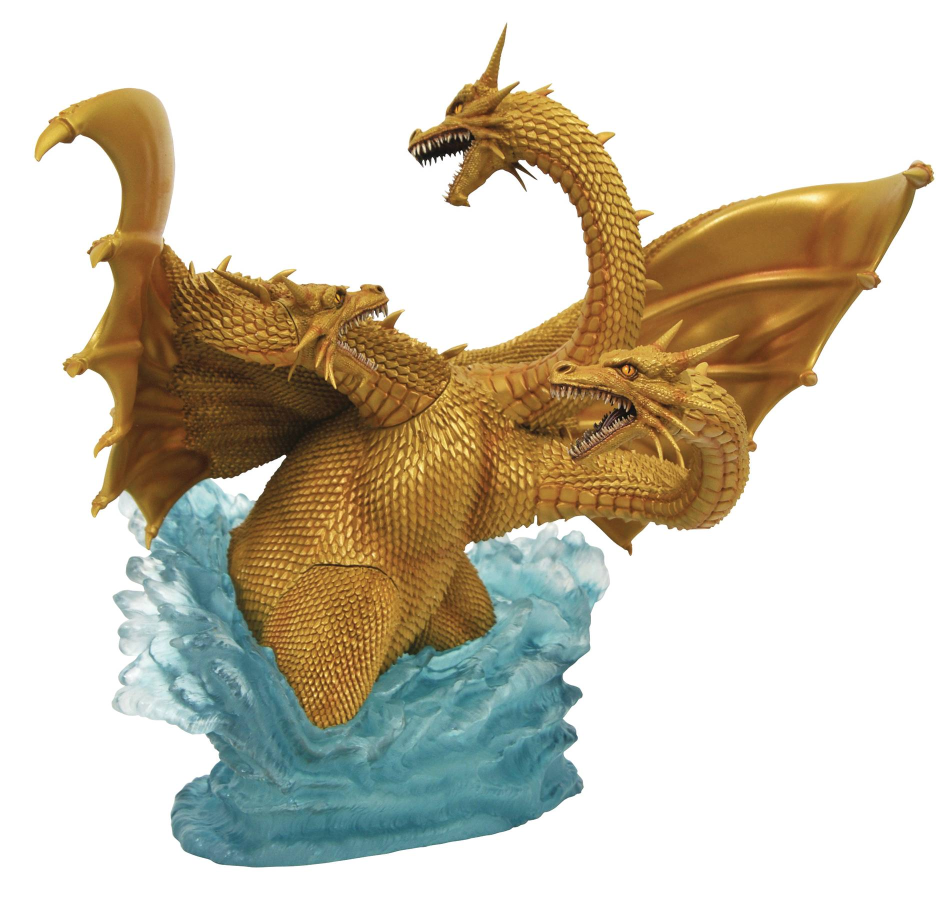 GODZILLA GALLERY 1991 KING GHIDORAH DLX PVC FIG