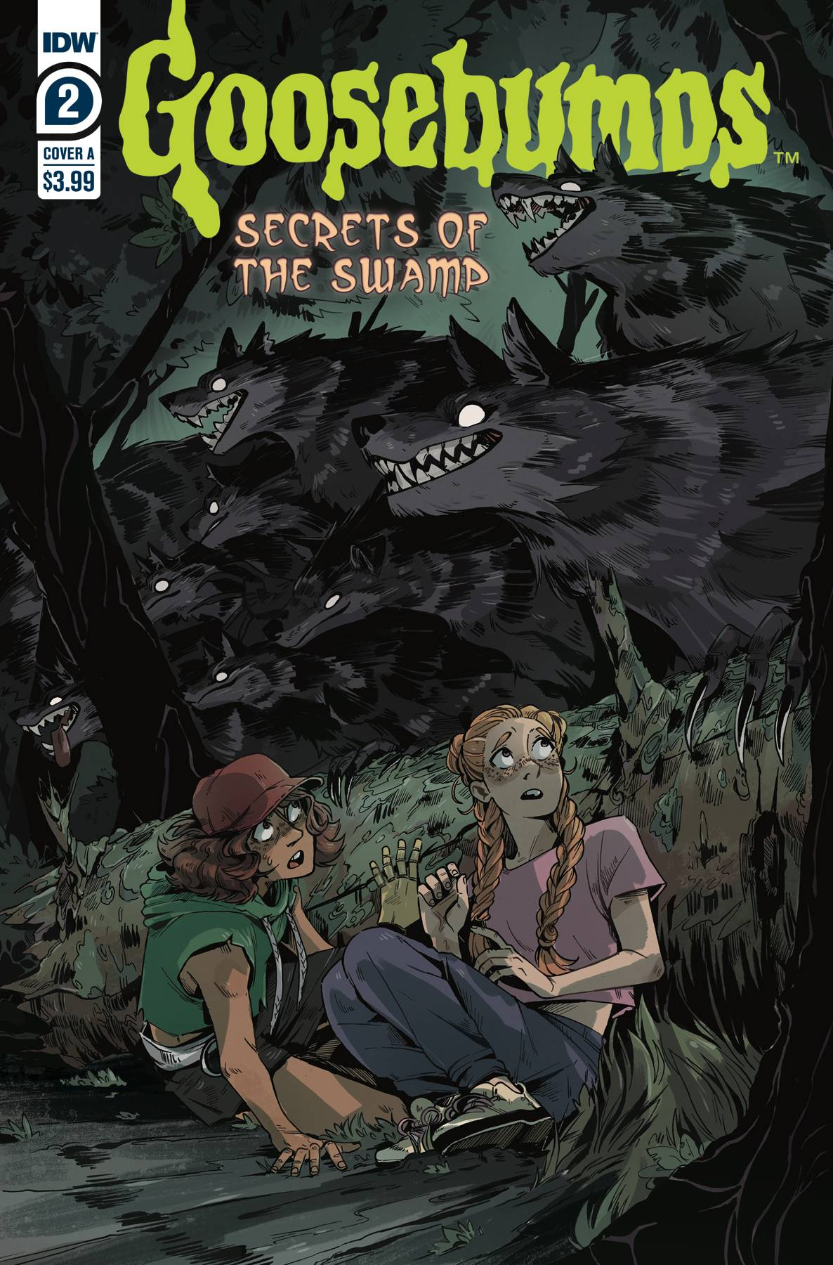 GOOSEBUMPS SECRETS OF THE SWAMP