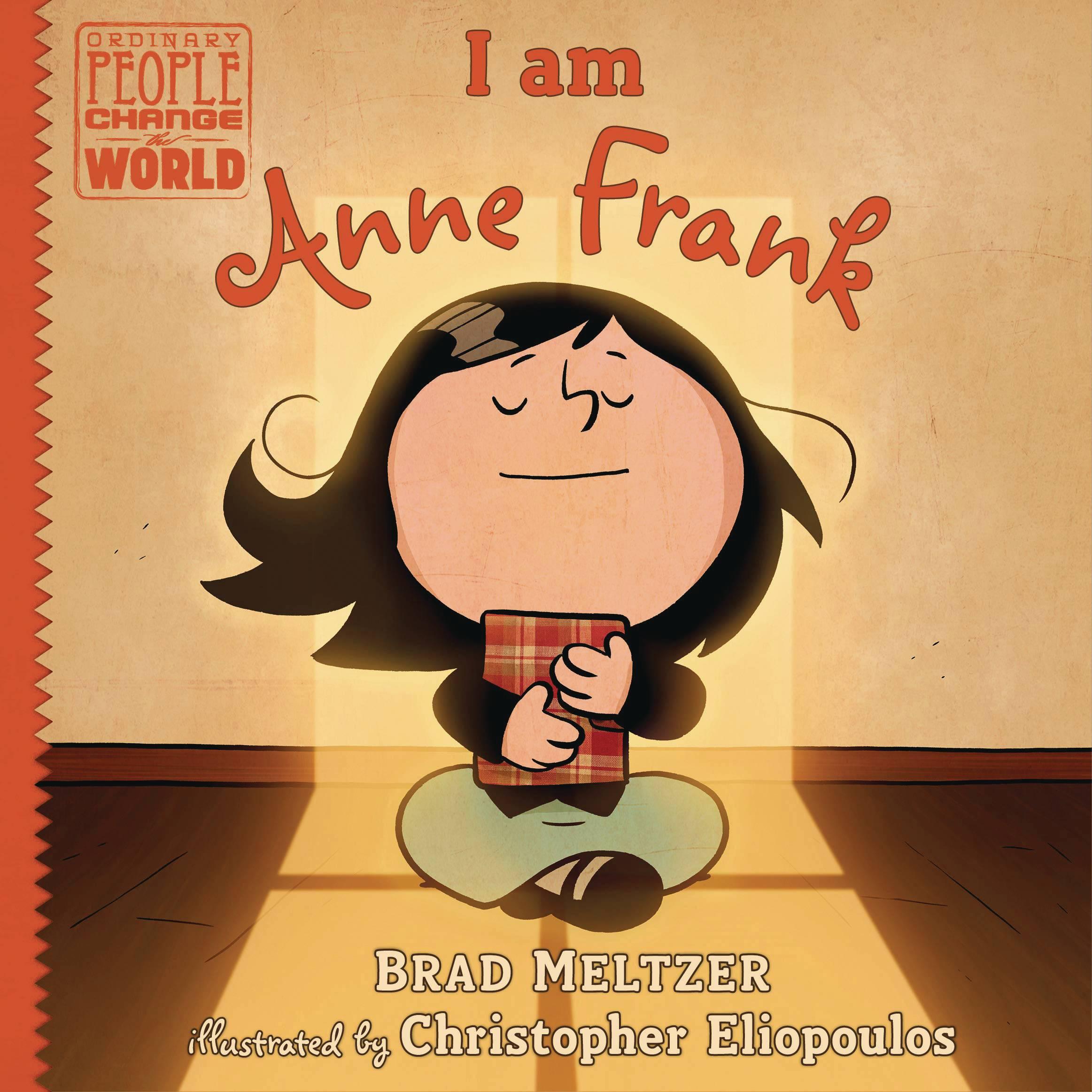 I AM ANNE FRANK YR HC