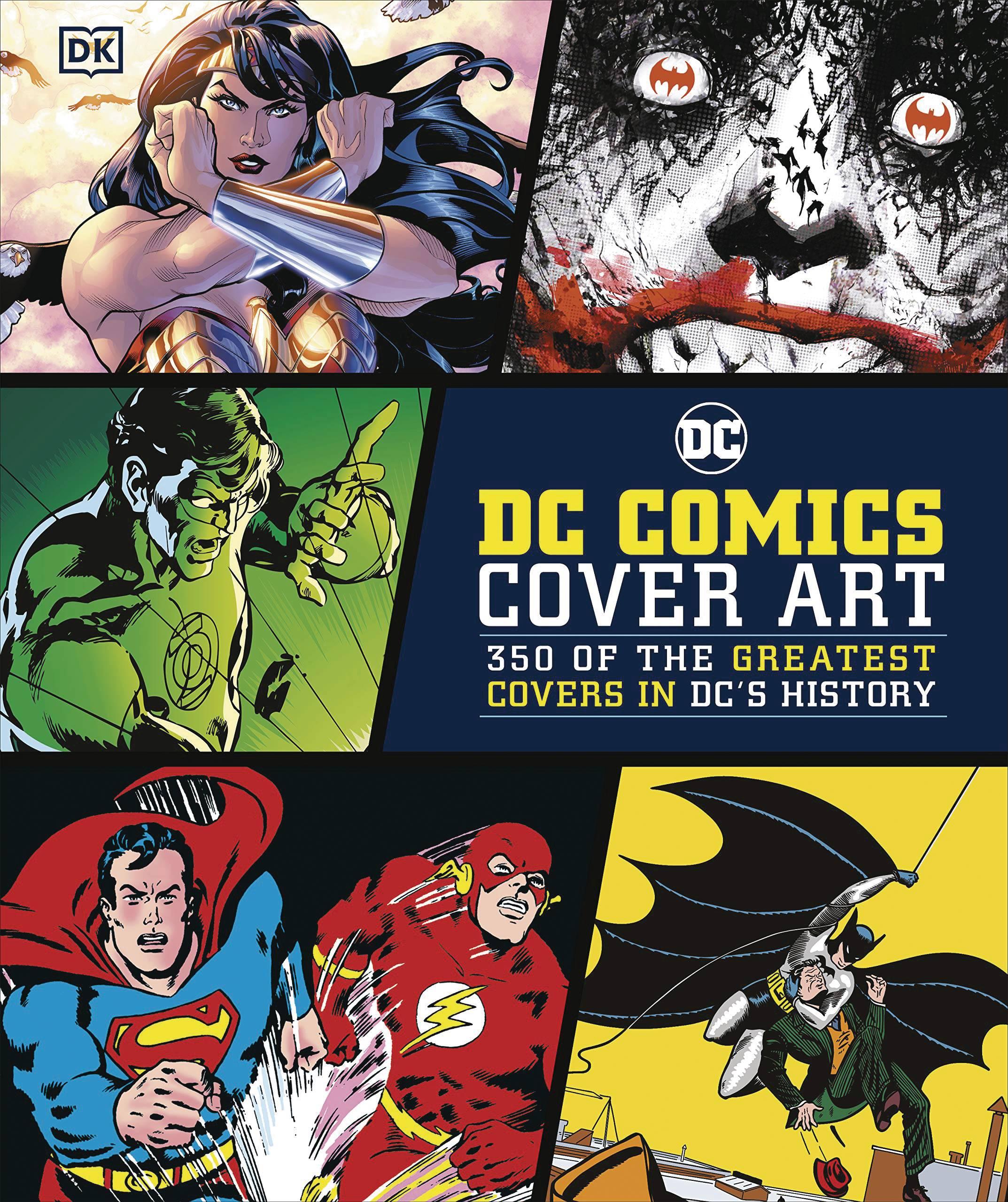 DC COMICS COVER ART HC