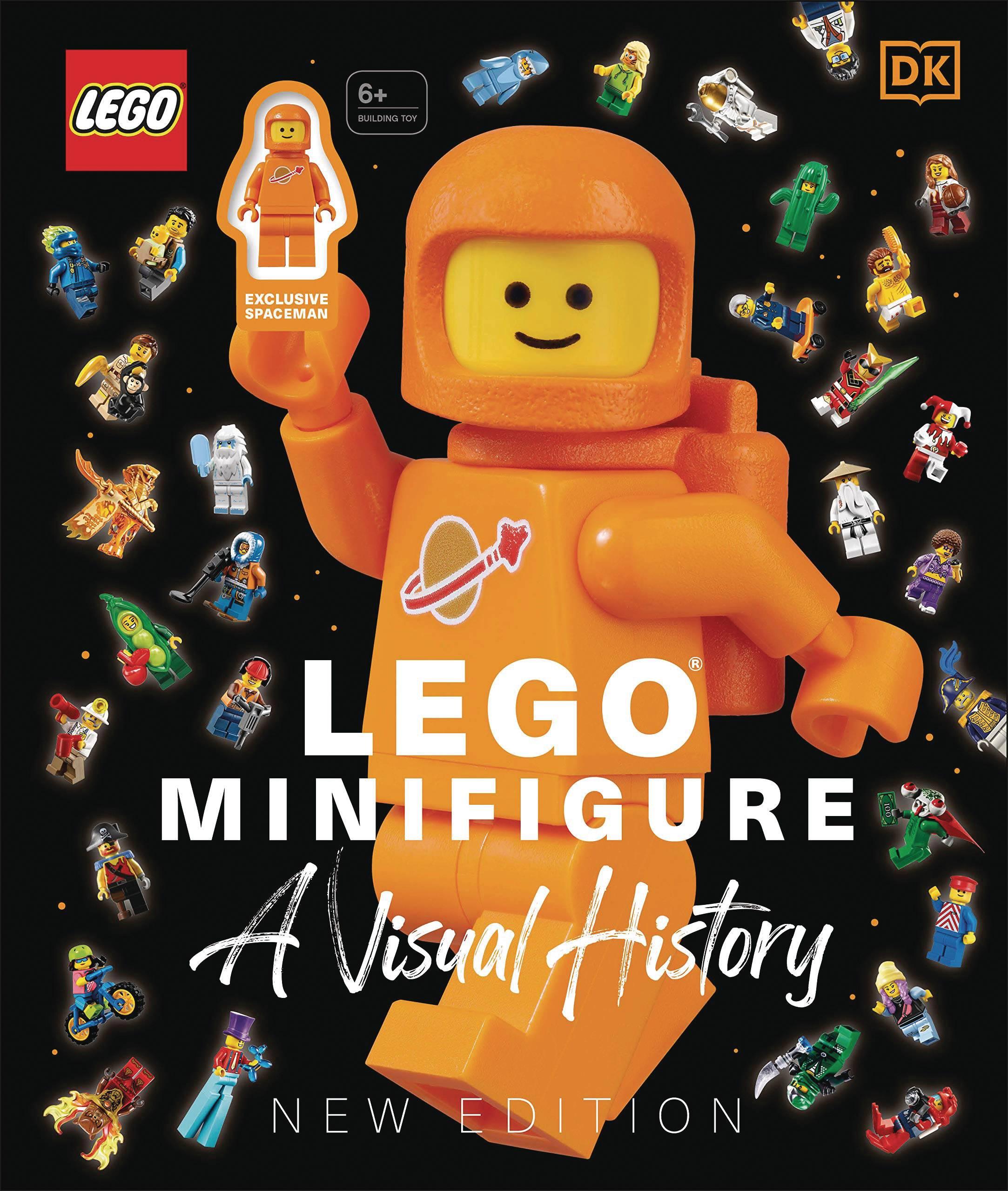 LEGO MINIFIGURE VISUAL HISTORY NEW ED HC