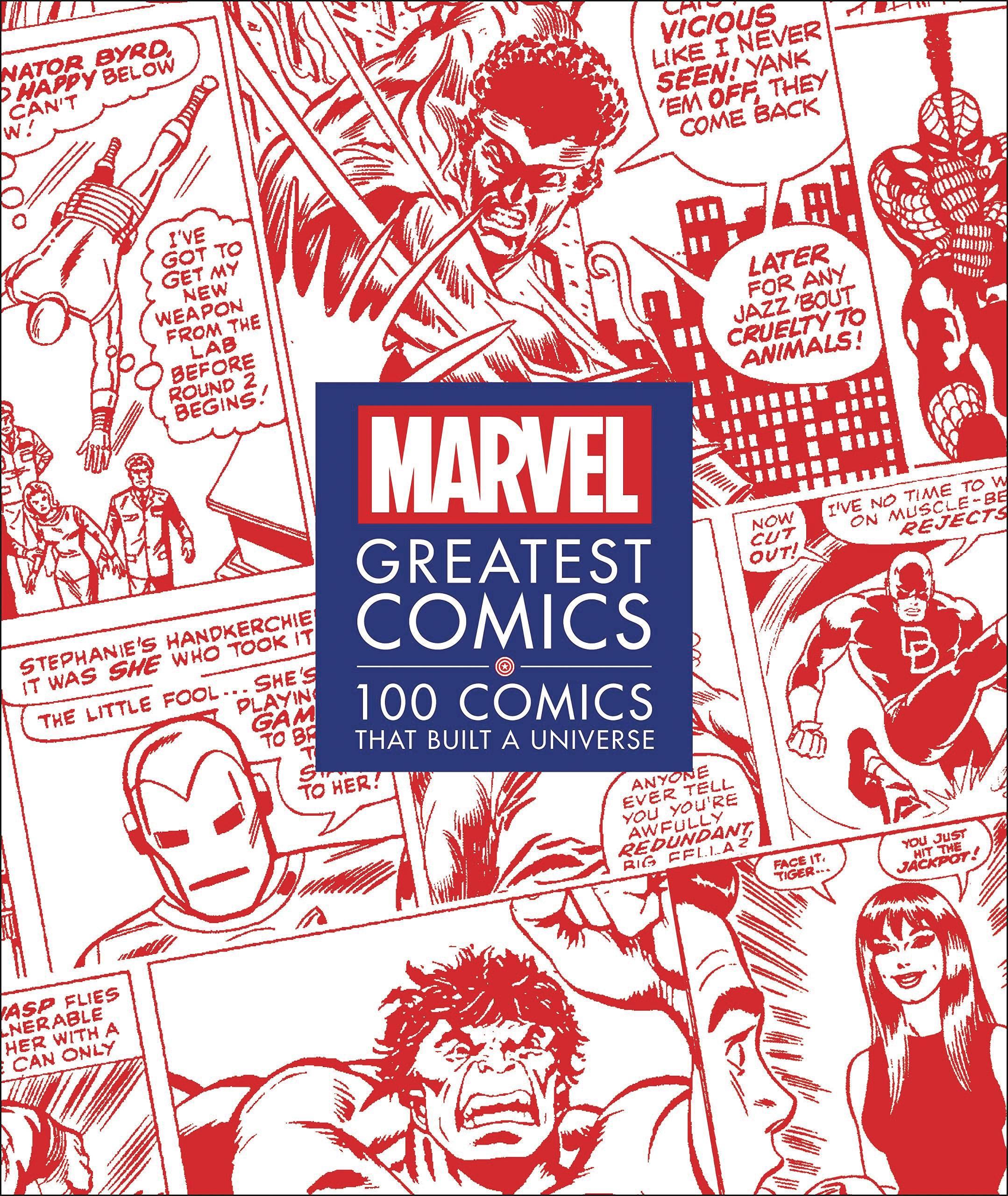 MARVEL GREATEST COMICS 100 COMICS THAT BUILT UNIVERSE HC