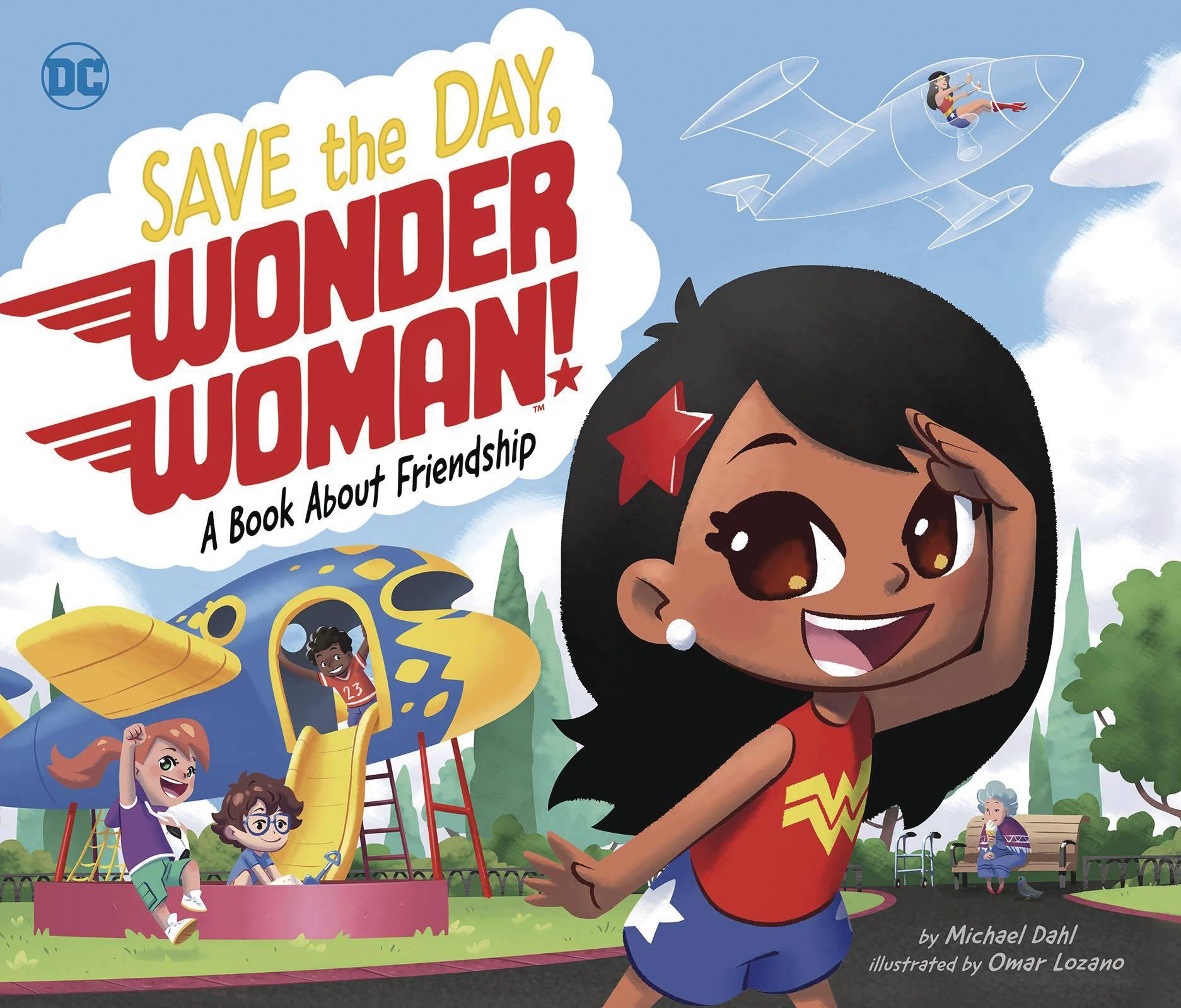 SAVE THE DAY WONDER WOMAN HC