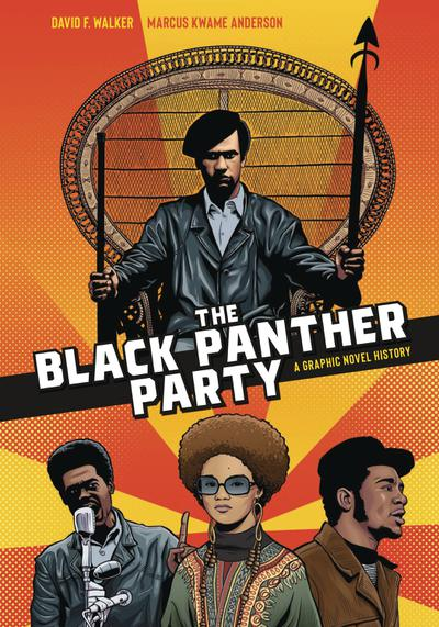 BLACK PANTHER PARTY GRAPHIC HISTORY TP