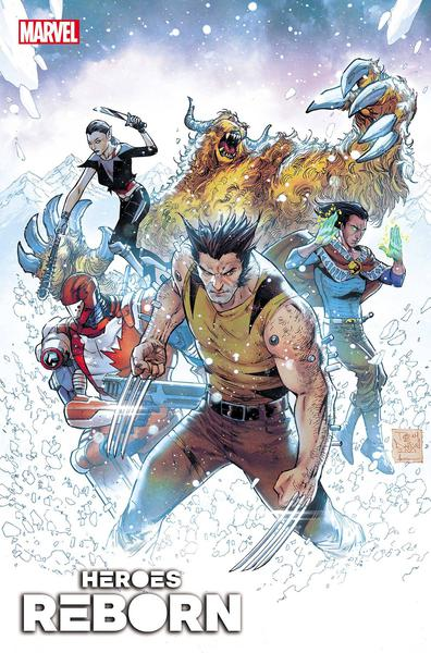 HEROES REBORN WEAPON X AND FINAL FLIGHT