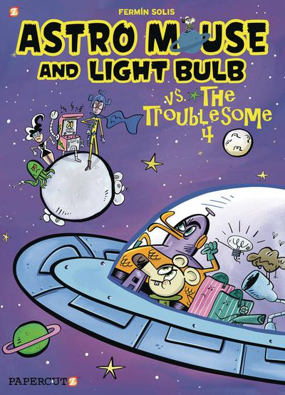 ASTRO MOUSE AND LIGHT BULB HC 02 TROUBLESOME FOUR