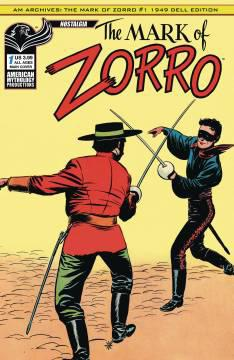 AM ARCHIVES MARK OF ZORRO 1949 1ST APP