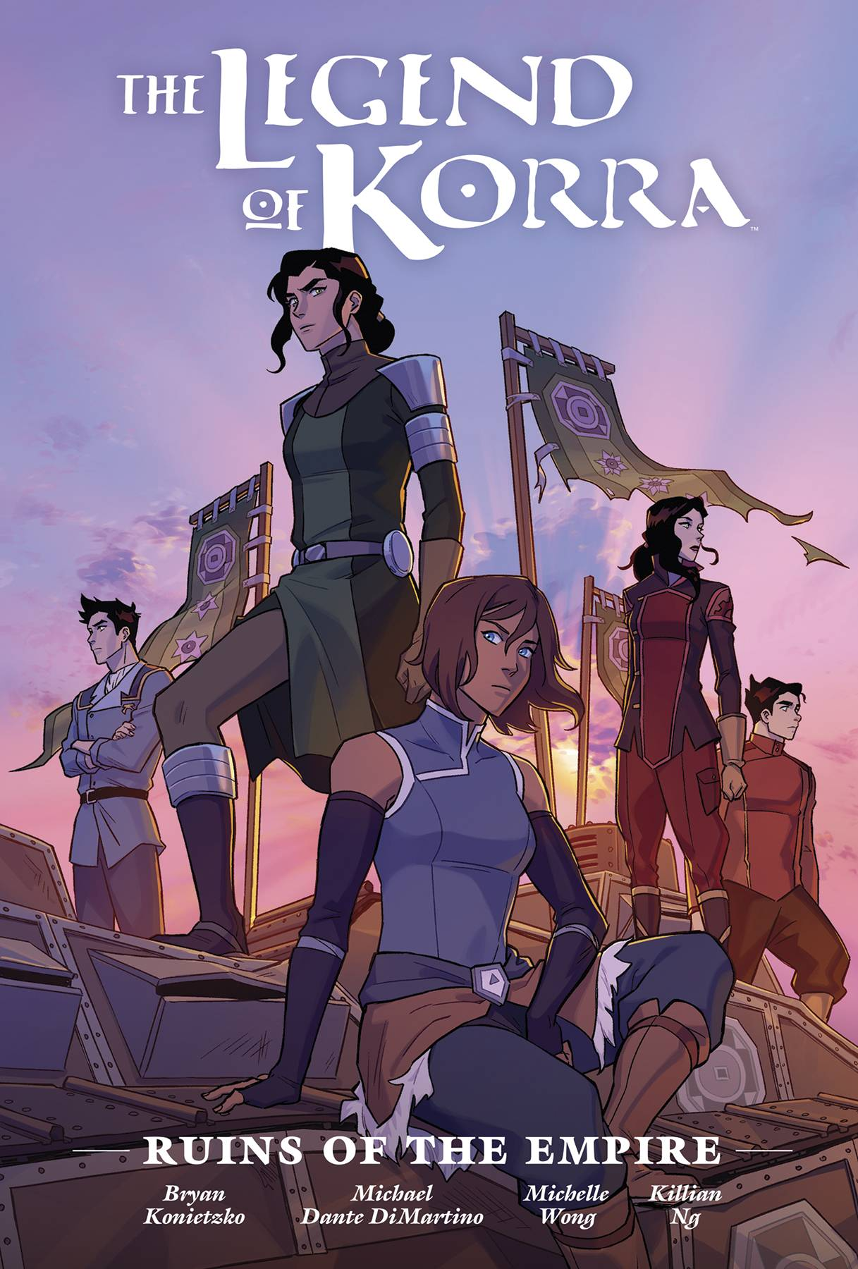 LEGEND OF KORRA RUINS OF EMPIRE LIBRARY ED HC