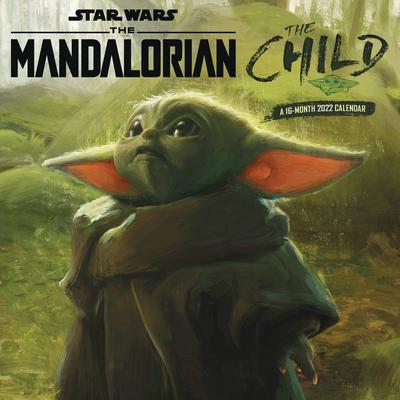 STAR WARS MANDALORIAN THE CHILD 2022 WALL CAL