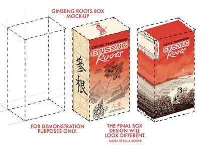 GINSENG ROOTS COLLECTIBLE BOX