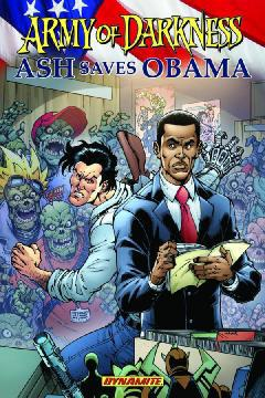ARMY OF DARKNESS ASH SAVES OBAMA TP
