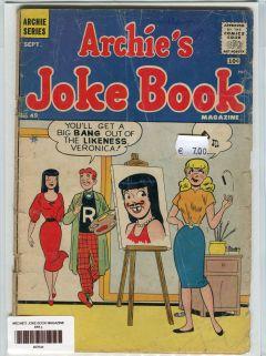 ARCHIE'S JOKE BOOK MAGAZINE