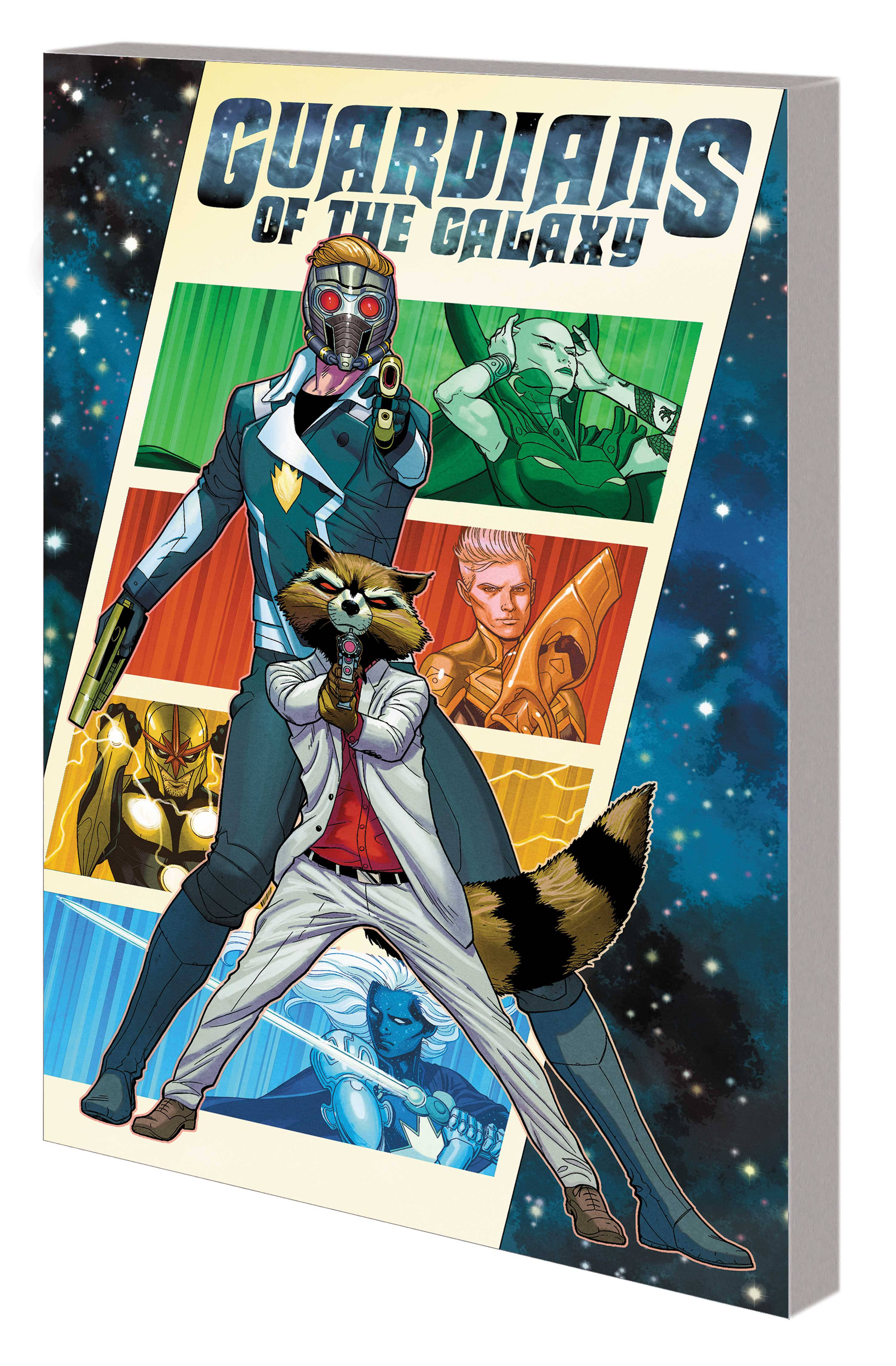 GUARDIANS OF THE GALAXY BY EWING TP 01 THEN ITS ON US