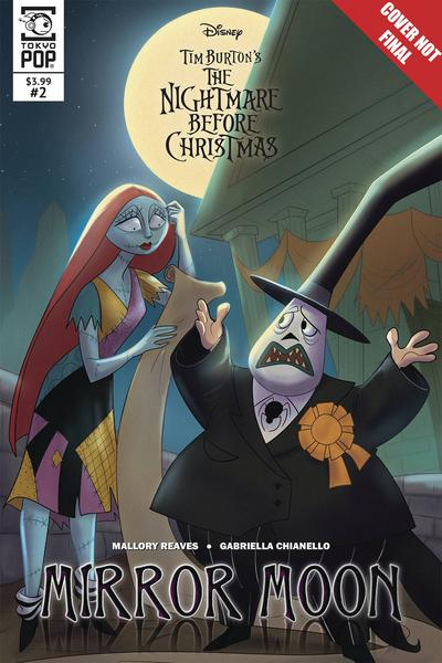 NIGHTMARE BEFORE CHRISTMAS MIRROR MOON
