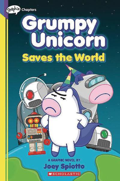 GRUMPY UNICORN YA TP 02 SAVES THE WORLD