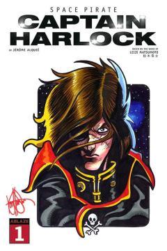 DF SPACE PIRATE CAPTAIN HARLOCK #1 HAESER SGN RMRK