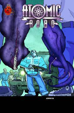 ATOMIC ROBO SHADOW FROM BEYOND TIME
